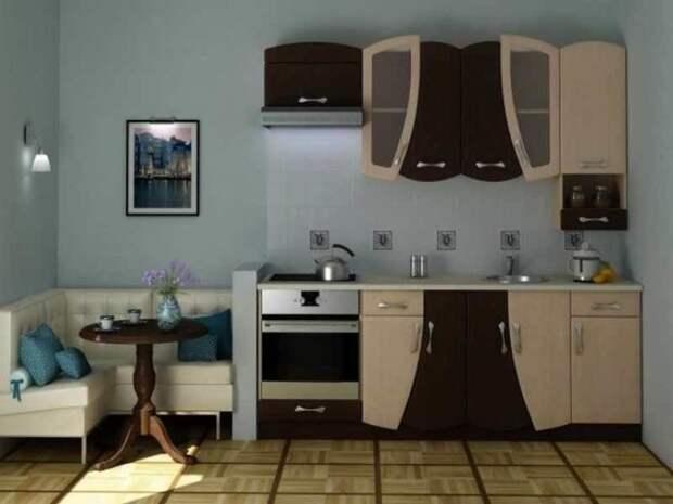 Заменив фасады, можно создать эксклюзивный дизайн кухни. /Фото: kitchenremont.ru