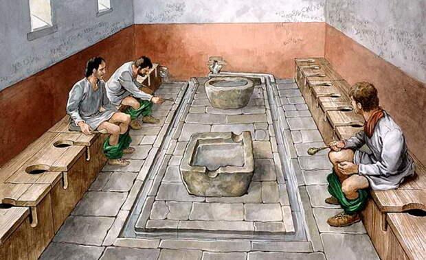 """Деньги не пахнут, или Почему в Древнем Риме был введен """"туалетный"""" налог""""."""
