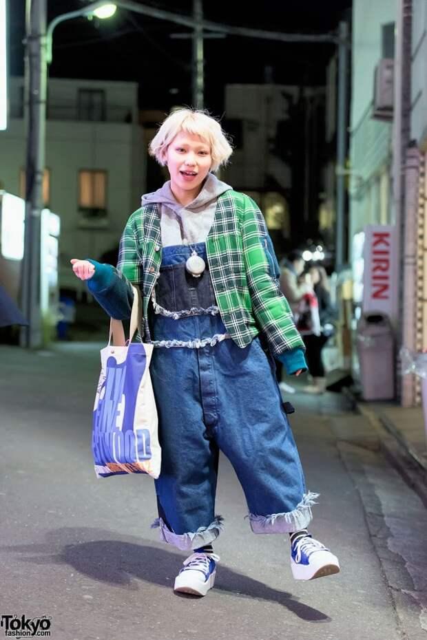 Токийский стритстайл (много картинок)