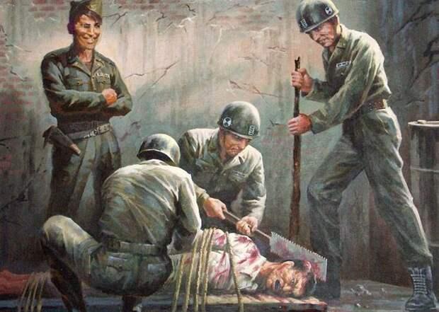Антиамериканская пропаганда из Северной Кореи