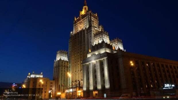 МИД РФ: Киев должен самостоятельно разобраться с Минскими соглашениями