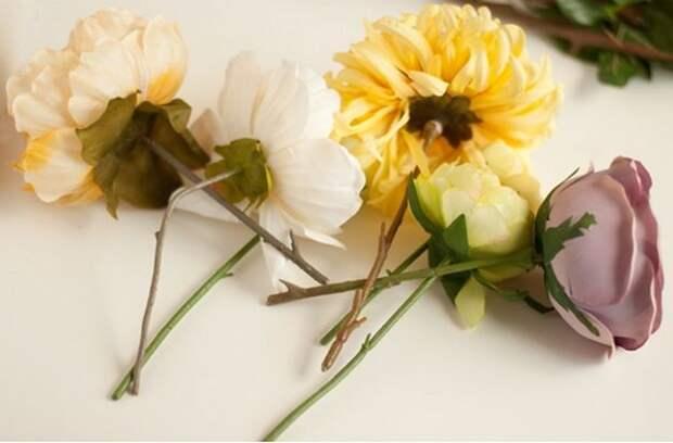 Картинка оригинальный подсвечник цветок из гипса