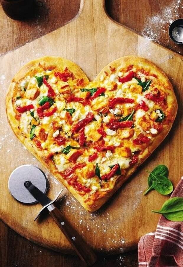 Сердечная пицца (подборка)