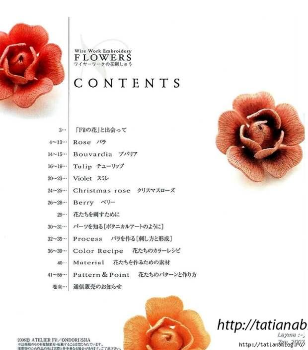 302_Ondori. Flowers. Wire Work Embroidery - 2006.page12 copy (616x700, 186Kb)