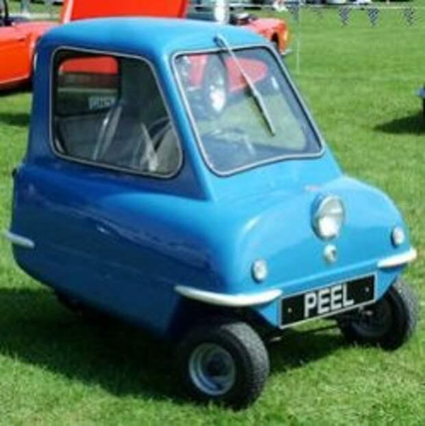 Самый маленький автомобиль в мире