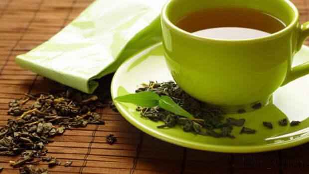 Зелёный чай против рака полости рта