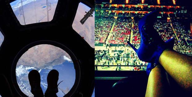 """""""Год на орбите"""": как астронавт Скотт Келли поддерживает отношения с любимой через Инстаграм"""