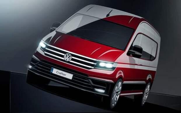 Мультивэном навеяло: новый Volkswagen Crafter дебютирует осенью