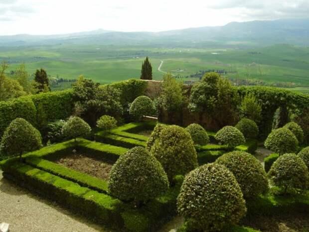 Оформление сада в стиле барокко