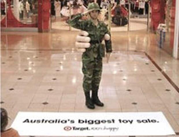 Target: очень большие игрушки