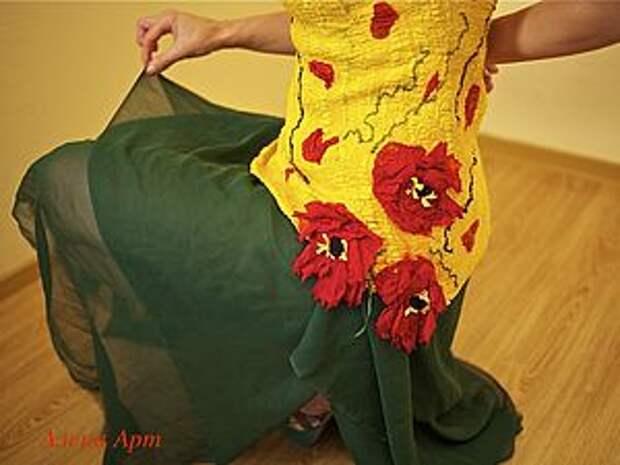 Валяние блузы, платья на шаблоне | Ярмарка Мастеров - ручная работа, handmade