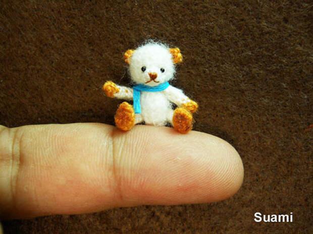 Крошечные вязаные игрушки