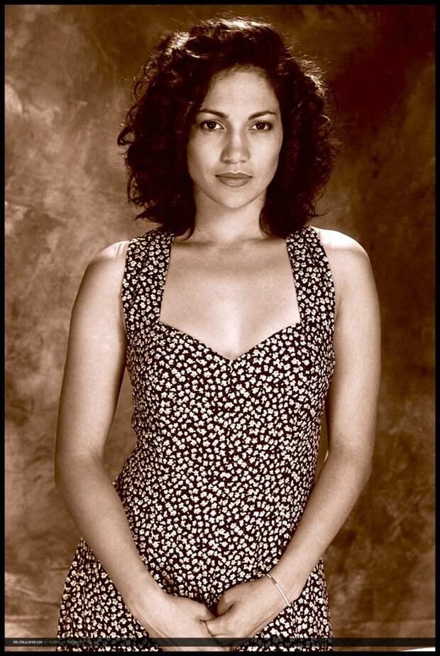 Дженнифер Лопес в 1990 году