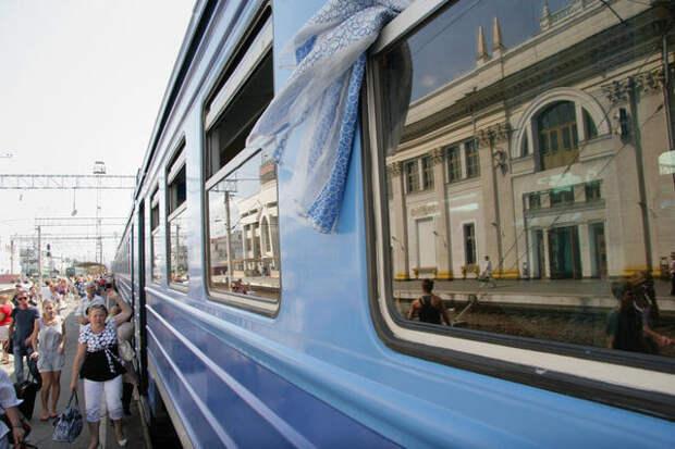 За самовольную остановку поезда оштрафуют на пять тысяч рублей