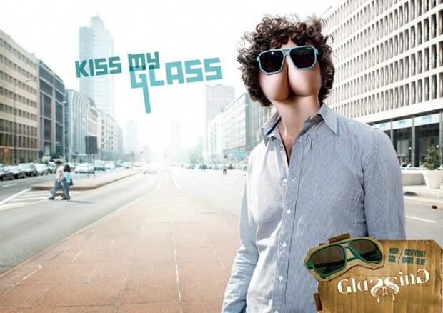 Glassing Sunglasses: Kiss my glass