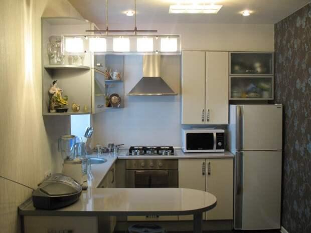 Кухня в квартире хрущевке