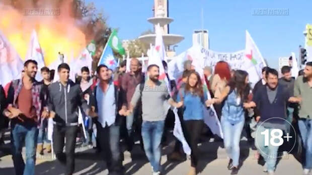 СМИ: Число жертв теракта в Анкаре возросло до 35