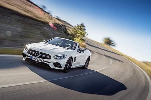Обновленный Mercedes-Benz SL: слава богу, без планшета