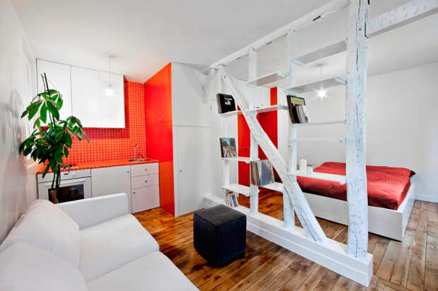 Интерьер, который соответствует квартире.
