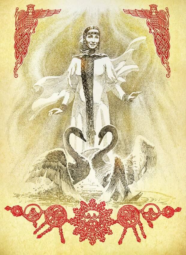 Любовь – это когда люди Бога ведают (Послание богини Лады)