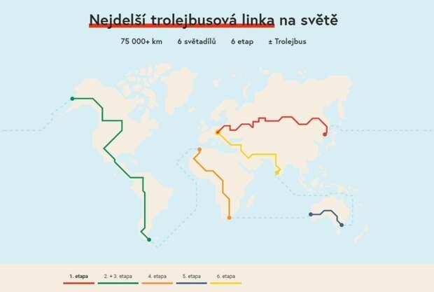 Первая кругосветная экспедиция на троллейбусе пройдет через Иркутск