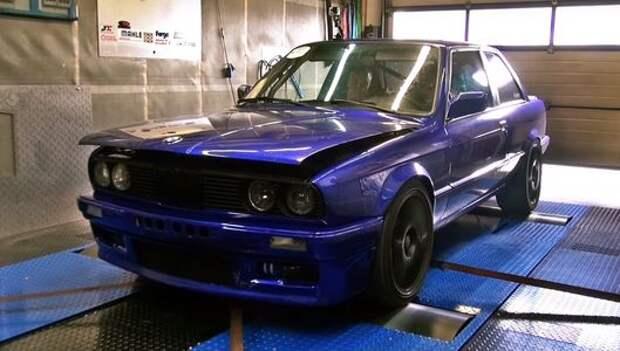 Старая «трешка» BMW пережила турбошок: 1225 л.с.!