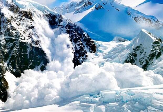 МЧС объявило о лавиноопасности в горах Сочи