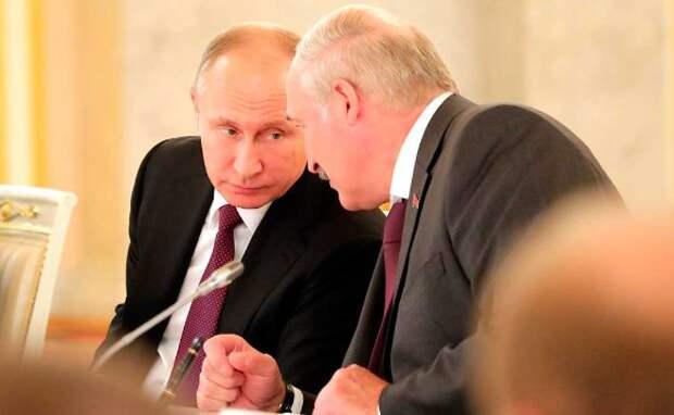 Александр Лукашенко и Владимир Путин. Фото: Kremlin Pool/Global Look Press/www.globallookpress.com