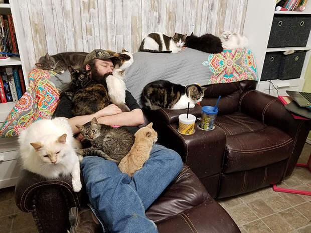 Душевные фотографии из приютов для животных