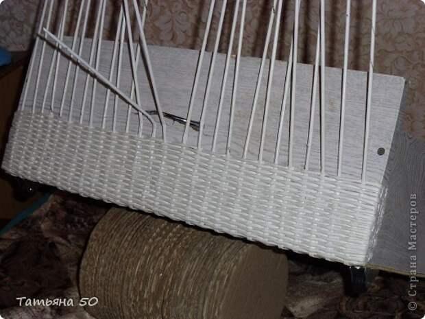 Интерьер Декупаж Плетение Переделки в ванной   Бумага Дерево фото 7