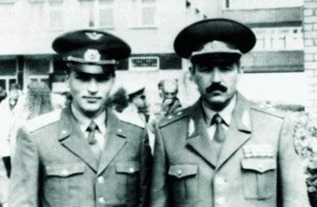 Лейтенант Олег Шпак – гордость генерала Георгия Шпака
