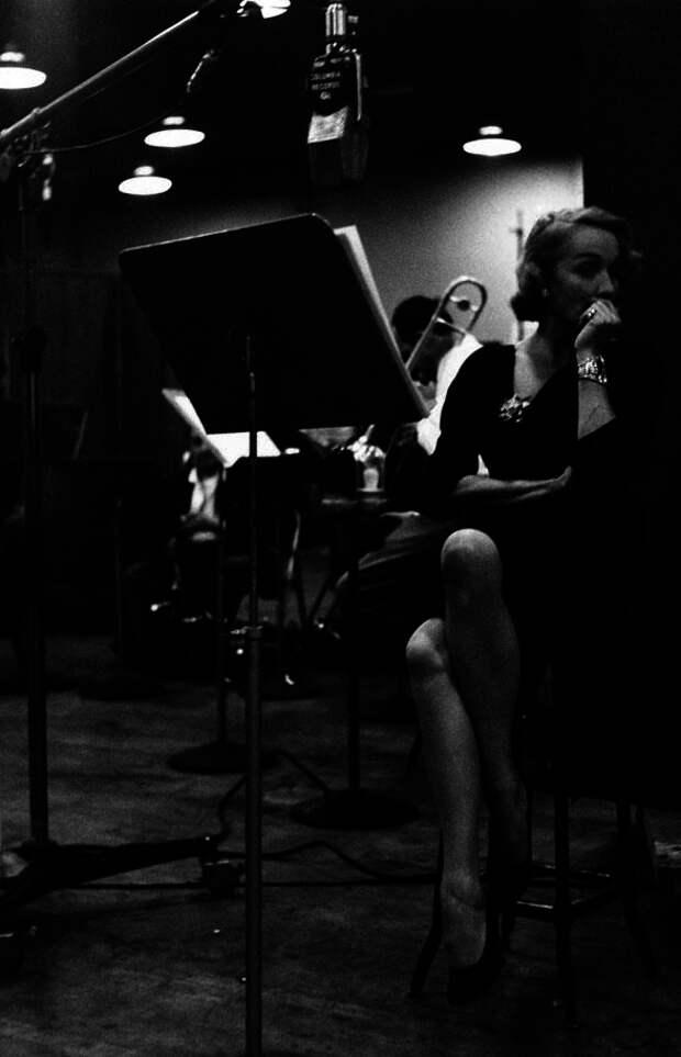 1952. Полночная сессия на студии звукозаписи в Нью-Йорке