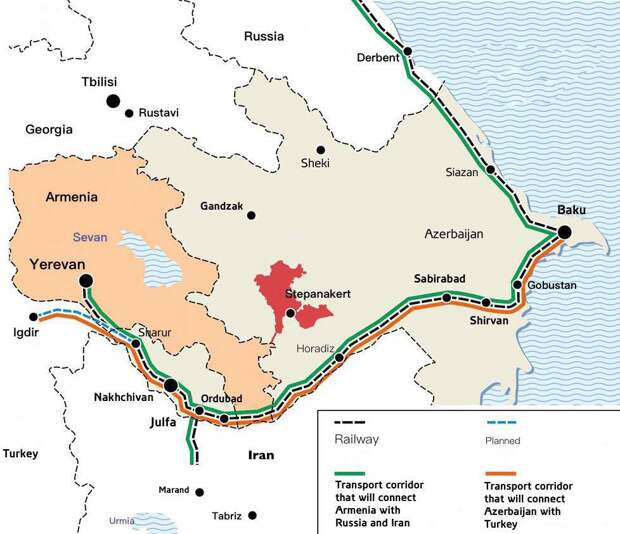 Новая транспортная реальность в Закавказье