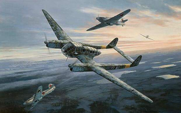 Группа Ровеля — «самолеты-призраки», без которых Германия не вторглась бы в Советский Союз