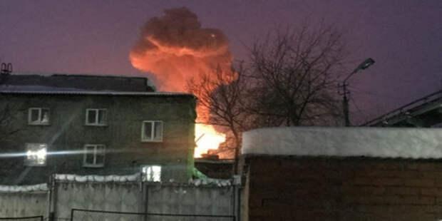 На заводе в Перми случился пожар, есть пострадавшие