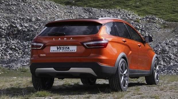 АВТОВАЗ раскрыл концепт Lada Vesta Cross
