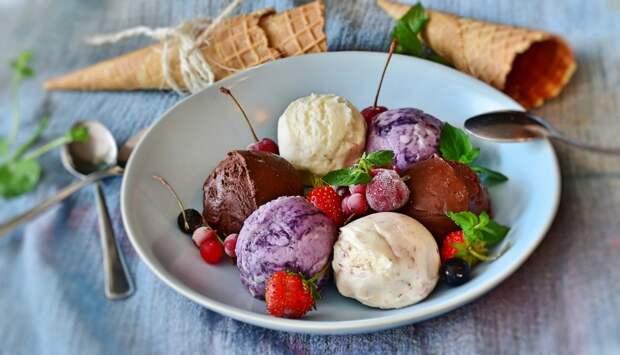 Красивые фотографии мороженого