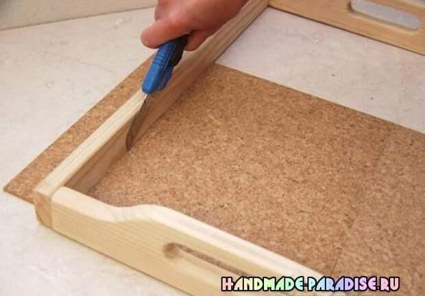 Как сделать деревянный поднос своими руками (5)