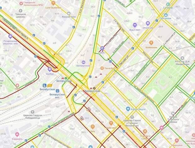 Москва и индуктивне петлевые детекторы