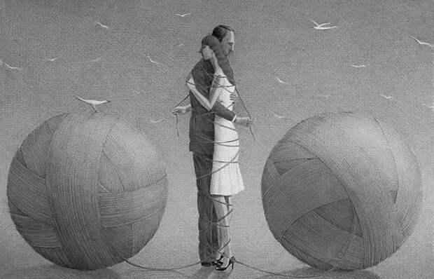 «Я свяжу тебе жизнь…»: трогательное стихотворение о сути земной любви