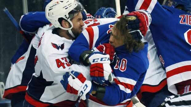Назаров — о драке с участием Панарина: «Уилсон очень полезный хоккеист. Думаю, он выполнял установку тренера»