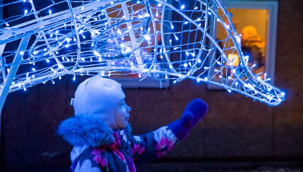 В парках Подмосковья 1 декабря зажгутся елки и новогодняя иллюминация