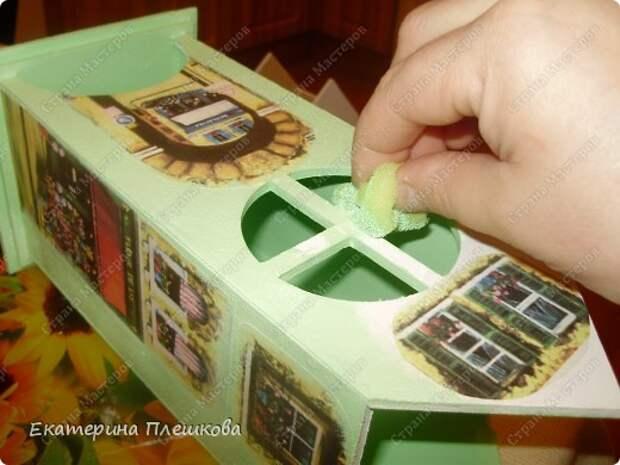 Декор предметов Мастер-класс 8 марта День рождения Декупаж МК Чайного домика Бумага Дерево Крупа фото 16