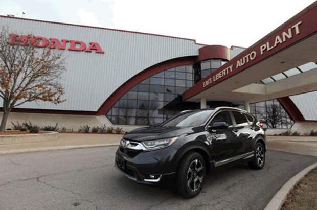 В Огайо стартовало производство нового Honda CR-V для российского рынка