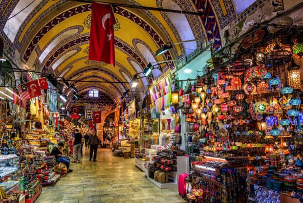 Великий базар, Турция / Фото: www.beatmypath.com