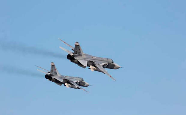 Боевики сняли удар российских Су-24 по своим позициям в Сирии