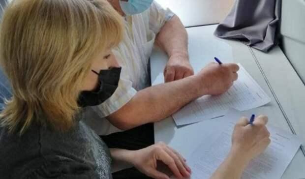 Жители Александровского района могут привиться отCOVID-19 вмобильном медпункте