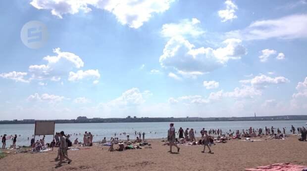 Спасатели разрешили отдыхать на пляже Ижевска
