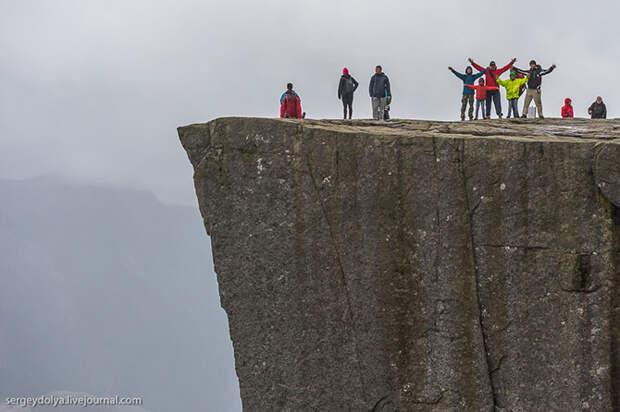 Восхождение на самую красивую гору Норвегии