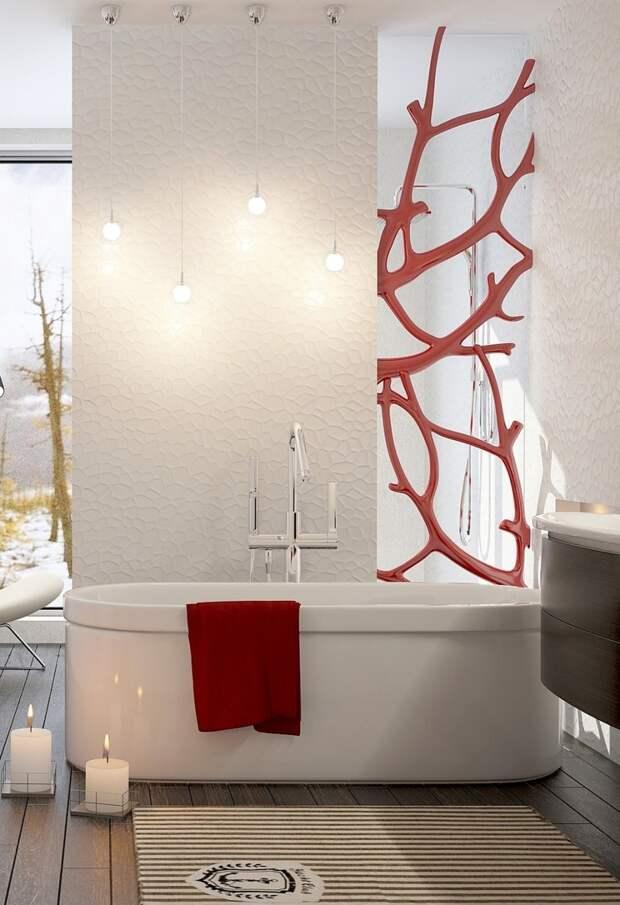 """Проект ванной комнаты """"Коралловый риф"""""""